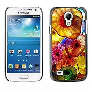 TopCaseStore / la caja del caucho duro de la cubierta de protección de la piel - Vibrant Surf Sun Sea Summer - Samsung Galaxy S4 Mini i9190 MINI VERSION!
