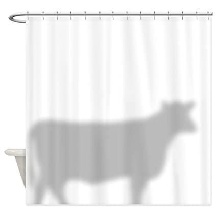 CafePress Cow Decorative Fabric Shower Curtain 69quot