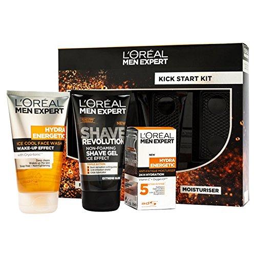 L'Oreal Men Expert Kick Start Kit 3-Piece Gift Set For Him L' Oreal 5011408090840
