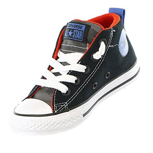 para Taylor All BLACK Street Zapatillas Converse Chuck niños Star THUNDER Mid RED TBq5wa
