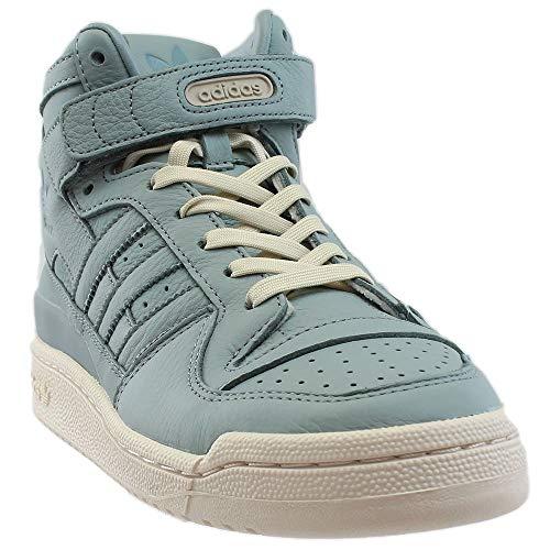 (adidas Originals Men's Forum MID Refined Fashion Sneaker, Supplier Colour/Chalk, 8 M US)