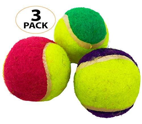 2044 Pk3 Mini Tennis Balls Bonka Bird Toys Conure Parakeet Cockatiel Quaker African Grey Parrot