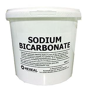 Sodium bicarbonate of soda 5kg bucket 100 bp food - Bicarbonate de soude ou sodium ...
