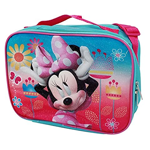Disney Minnie Mouse Insulated Soft Lunch Bag, DMMB031 - Blue
