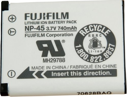 - Fujifilm NP-45 Lithium Ion Rechargeable Battery for Fuji Z & J Series Digital Cameras