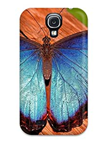 Andrew Cardin's Shop 8784807K23264934 High-quality Durability Case For Galaxy S4(beautiful Butterfly)