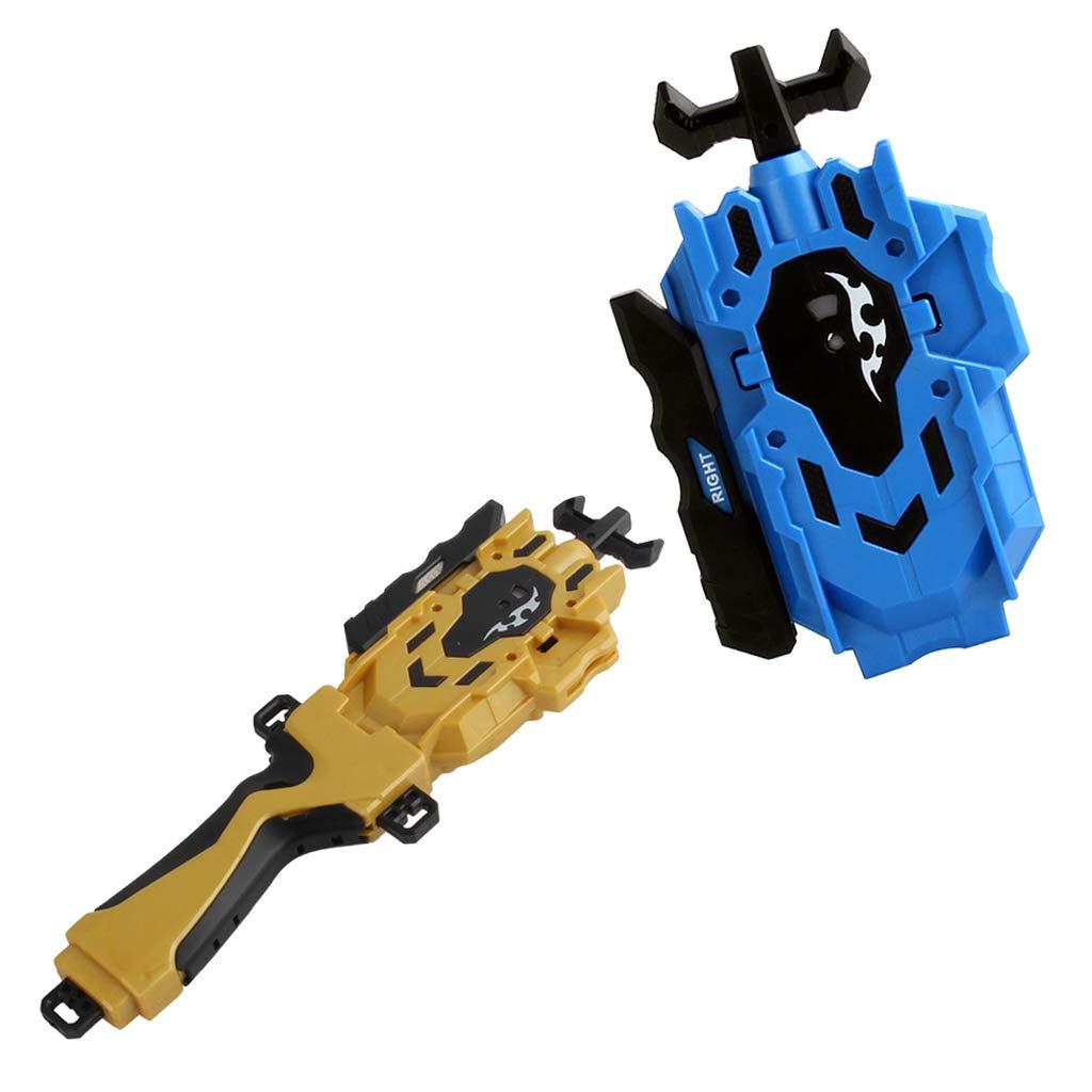 MagiDeal Set di Lanciatori per Corde Fusion in Plastica a Doppio Sterzo Impugnatura per Giocattolo per Bambini