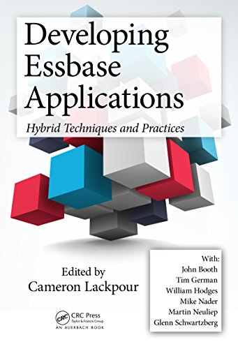 Download Developing Essbase Applications: Hybrid Techniques and Practices Pdf