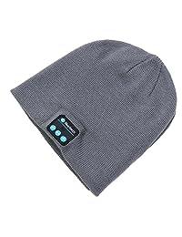 Hat Wireless Bluetooth Smart Cap Headphone Headset Speaker Mic