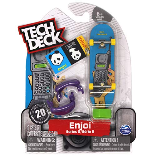 Tech Deck enjoi Skateboards Rare Series 8 Ben Raemers Instan