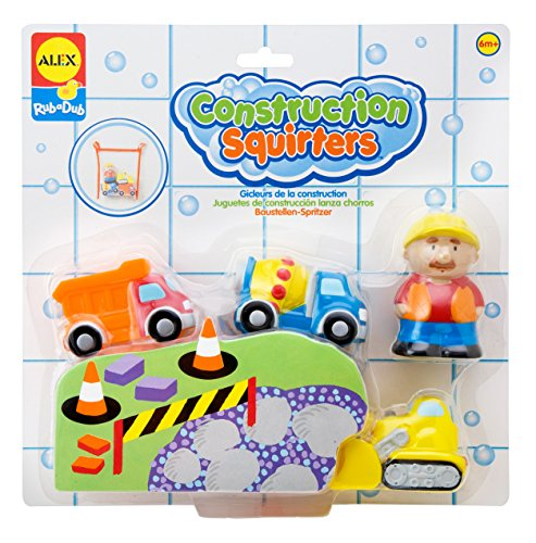Alex Toys Squirters (ALEX Toys Rub a Dub Construction Squirters)