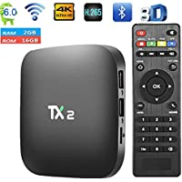 TX2 R2 smart TV Box 2GB 16GB Android 6.0 2.4GHz WiFi 4K x 2K BT2.0 media player