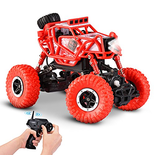 Dirt Mini Dune Sand Buggy Racing Truck – Nickel Cadmium Battery AA - Racer with 2.4 GHz Controller Ranger – Desert Buggy with 2 Motors & 4 WD – Suitable ()