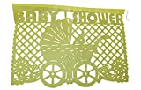 BABY SHOWER Mexican Papel Picado Banner - Ideal for Baby Shower, Gender Reveal, or Te De Canastilla Celebrations - Pastel colors