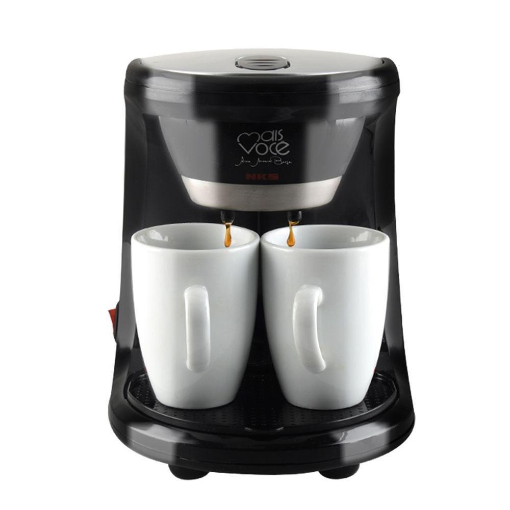 Acquisto Mwoom 2 Tazze A Goccia Caffettiera Elettrica Automatica Macchina caffè Home Café con Macchina da caffè Automatico Prezzi offerta