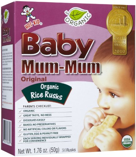 Mum Mum Rice Biscuits - Original Organic - 1.76 oz