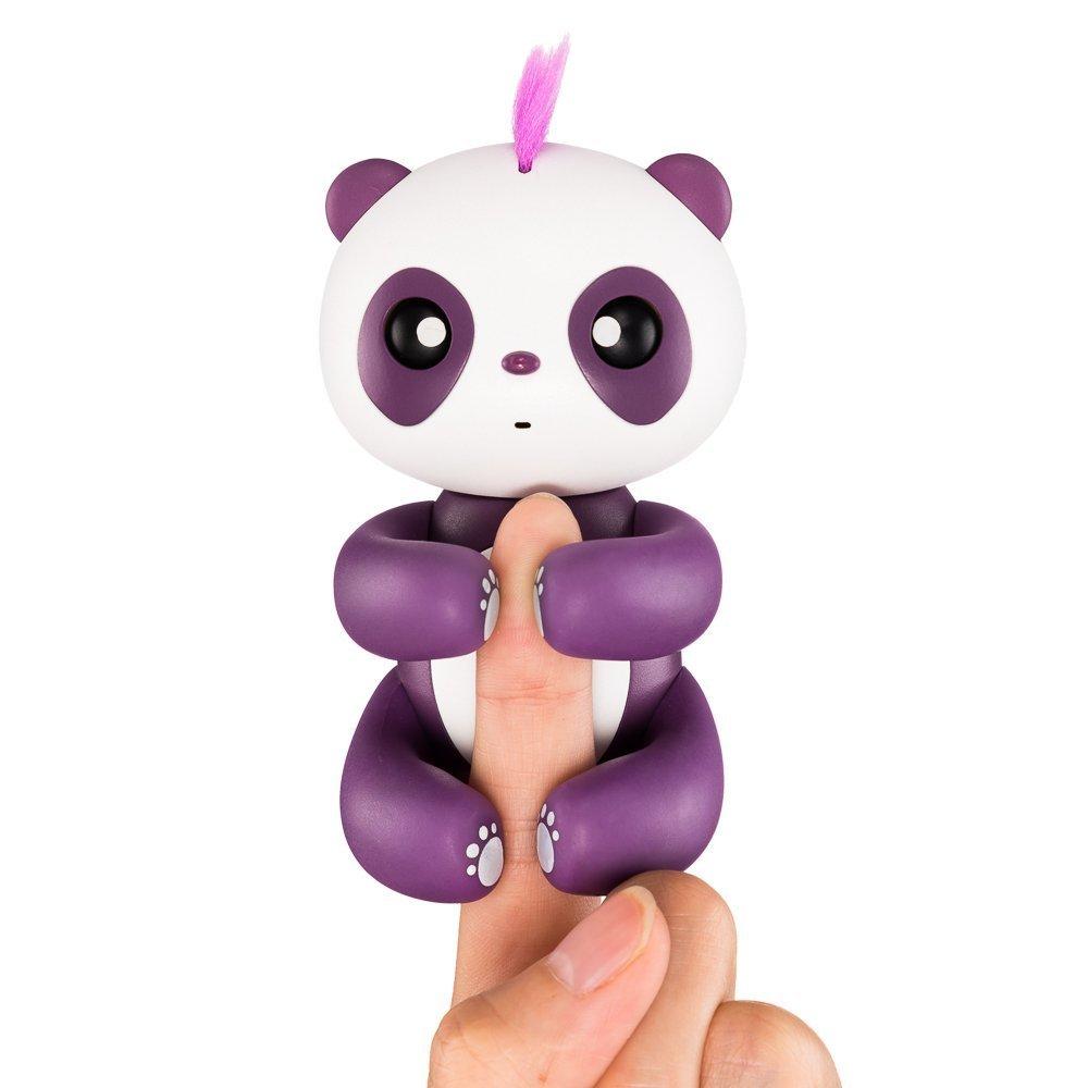 Finger Panda - Interactive Finger Baby Panda Toy - Fun Cute Hanging Puppet - Smart Baby Panda Pet for Children and Kids - Christmas Gift