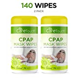 Care Touch CPAP Cleaning Mask Wipes - Citrus Scent, Lint Free - 70 Wipes, Pack of 2-140 Wipes Total