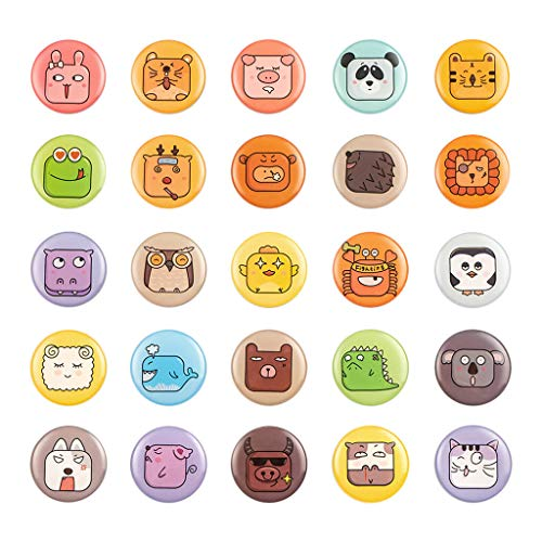 YJYDADA Cute Refrigerator Sticker 25PCS 3D Funny Fridge Magnets Suitable for Kitchen -