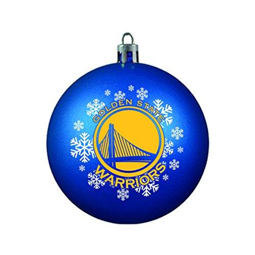 NBA Golden State Warriors Shatterproof Ball - Holiday Golden Ornament