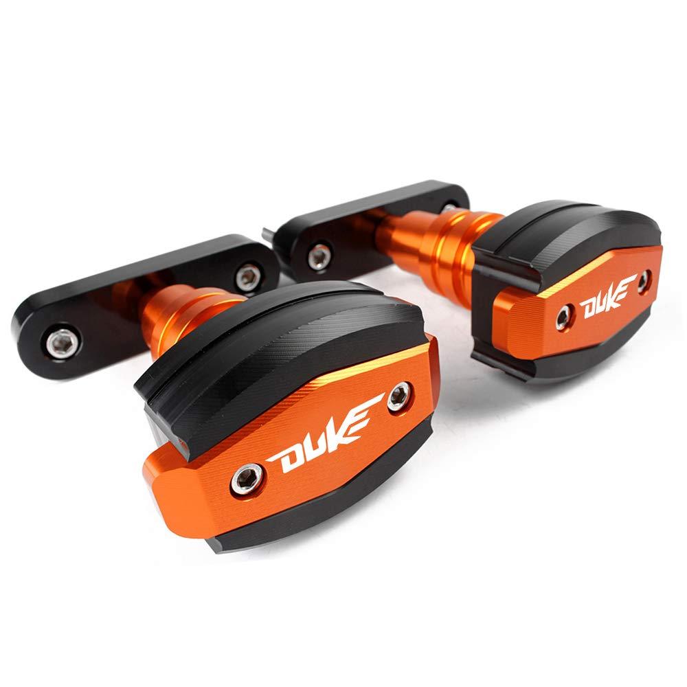 Topes anticaida defensa tacos proteccion Frame Sliders para Duke 125 200 390