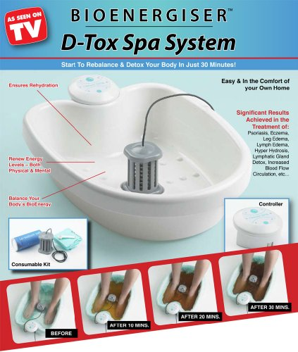 BioEnergiser Classic D-Tox Foot Spa System
