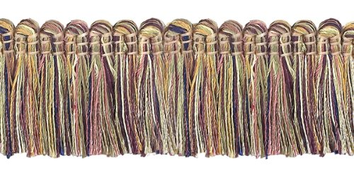 5 Yard Value Pack- Dusty Rose,Olive Green, Eggplant 1 1/4