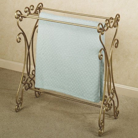 Touch of Class Gianna Blanket Rack Venetian Gold by Touch of Class