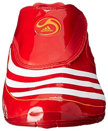 Adidas Menns F50.8 Tunit Fotballsko Rød / Hvit / Advarsel ...