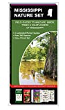 Mississippi Nature Set: Field Guides to Wildlife, Birds, Trees & Wildflowers of Mississippi