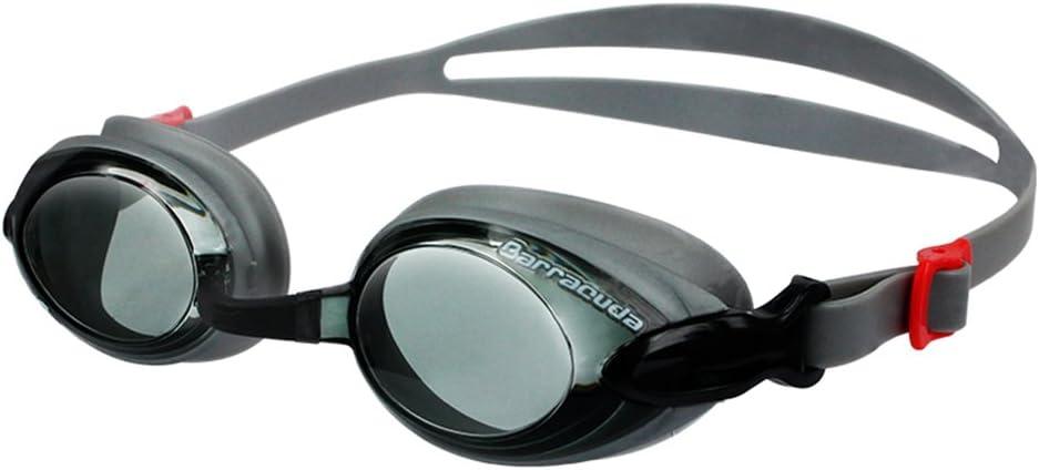Dr.B Barracuda RX Gafas de Natación Graduadas - Lentes Graduadas para Hipermetropía, De Fácil Ajuste, para Adultos (92295)
