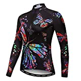 Weimostar Women's Cycling Jersey Long Sleeve Bike Jacket Biking Shirt Bicycle Clothing