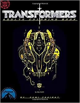 Amazon Transformers Adults Coloring Book 9781544741543 Sami Zaairat Books