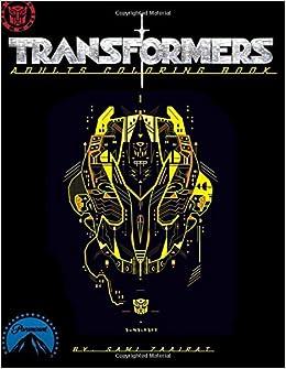 Amazon Transformers Adults Coloring Book 9781544741543 Sami Zaairat Books