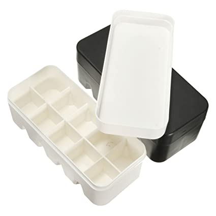 Mini Film Case Portable Storage Box With Lid For 135 Hard Small Fitting Plastic White Black  sc 1 st  Amazon.com & Amazon.com: Mini Film Case Portable Storage Box With Lid For 135 ...