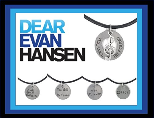 Dear Evan Hansen Genuine Leather Necklaces