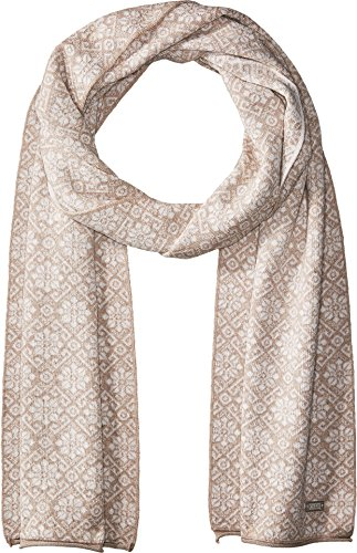 Dale of Norway Women's Sonja Scarf P-Sand Melange/Off-White Melange One Size by Dale of Norway