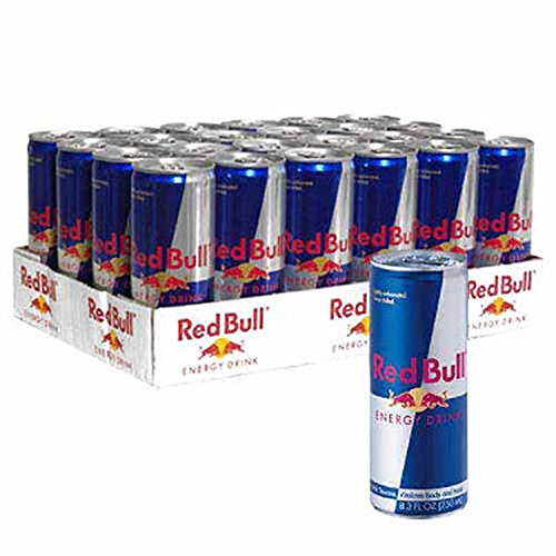 Red Bull Energy Drink, 24 ct./8.4 oz. (pack of 6) by Red Bull