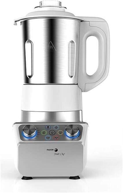 FAGOR FG142 - Licuadora de cocci�n peque�a para chef - 1000 W - 2.5 L - Recipiente de acero inoxidable - Variador de velocidad - Temperatura variable: Amazon.es: Hogar