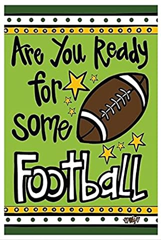 Are You Ready For Some Football Garden Flag (Some Balls)