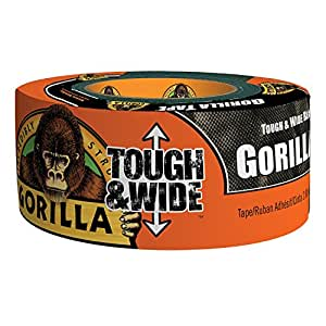 Gorilla - Cinta adhesiva (ancha y resistente)