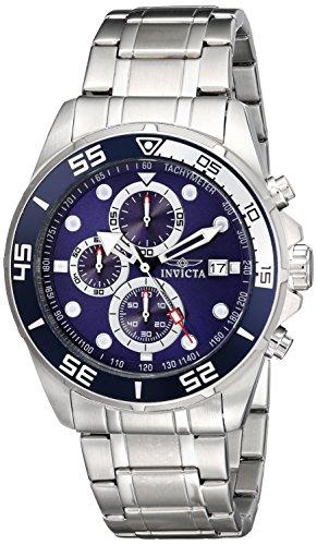 Invicta Men s 17013 Specialty Analog Display Japanese Quartz Silver Watch