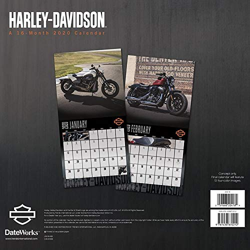 Amazon.com: Calendario de Harley Davidson 2020 – Calendario ...