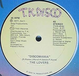 Lovers - Discomania (medley, 1977) / Vinyl single [Vinyl