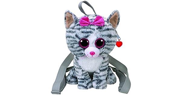 Amazon.com: TY Gear – Mochila – Kiki el gris Cat (13 inch ...