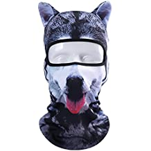 YASHALY Balaclava Face Mask, Breathable Full Face Mask With 3D Animal Ears Outdoor Sport Headwear For Motorcycle Cycling Skiing Hiking Hunting