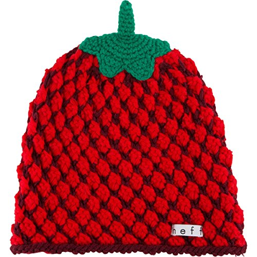 Neff Women's Fruit Beanie, Strawberry, One Size