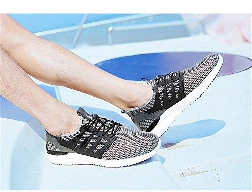 Chaussures De Sport Pour Hommes Respirant Net Chaussures Respirant Chaussures Gris