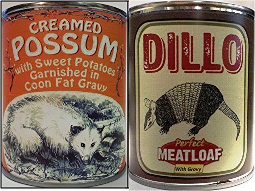 - Creamed Possum in Coon Fat Gravy & Dillo the Perfect Meatloaf