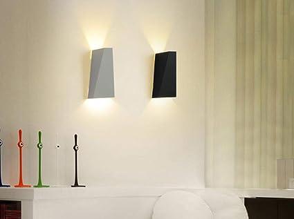 Lámpara de pared LED moderna habitación minimalista sala de estar escalera de noche lámpara de pared del pasillo del hotel: Amazon.es: Iluminación